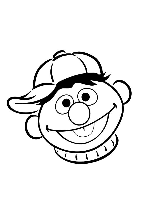 bert ernie coloring pages - photo#30