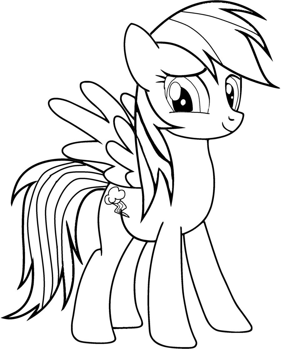 My Little Pony Friendship Is Magic Fluttershy - Coloring Pages for ...