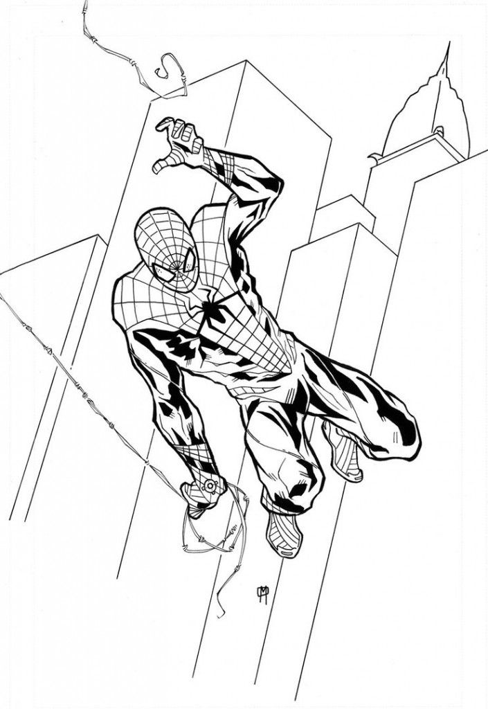 It is a picture of Old Fashioned Spiderman Pictures to Print