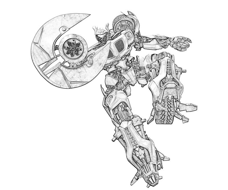 Cybertron Coloring Pages