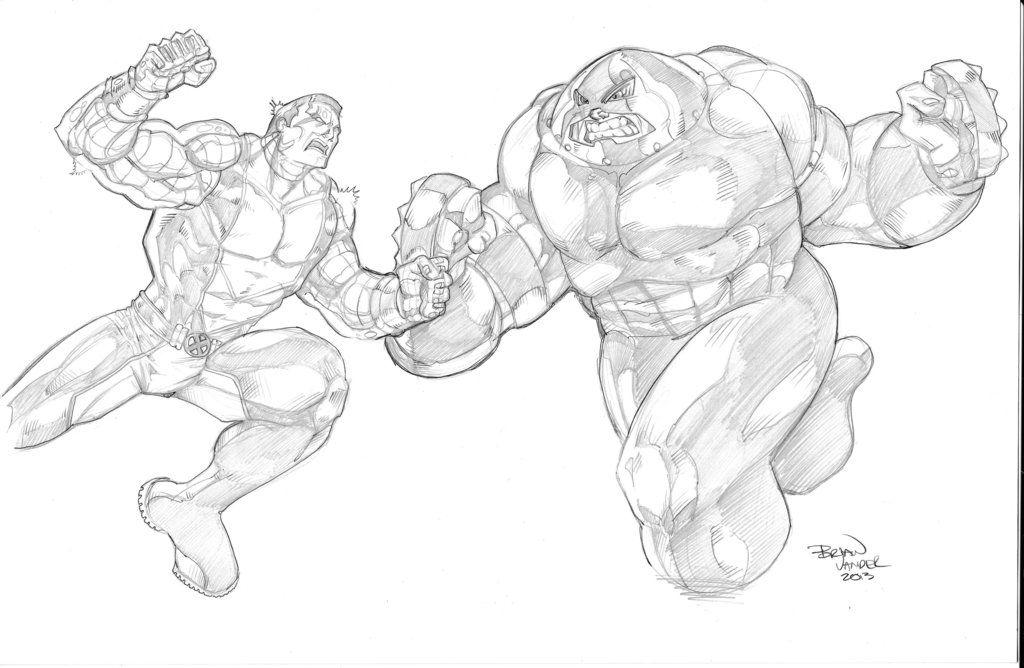 marvel juggernaut coloring pages - photo#20