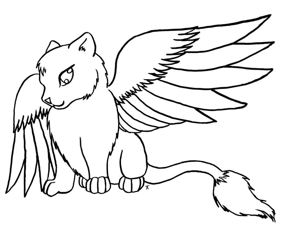 Adult Cute Anime Animal Coloring Pages Images top anime animals coloring pages az kitten s for kids and adults popular cute images