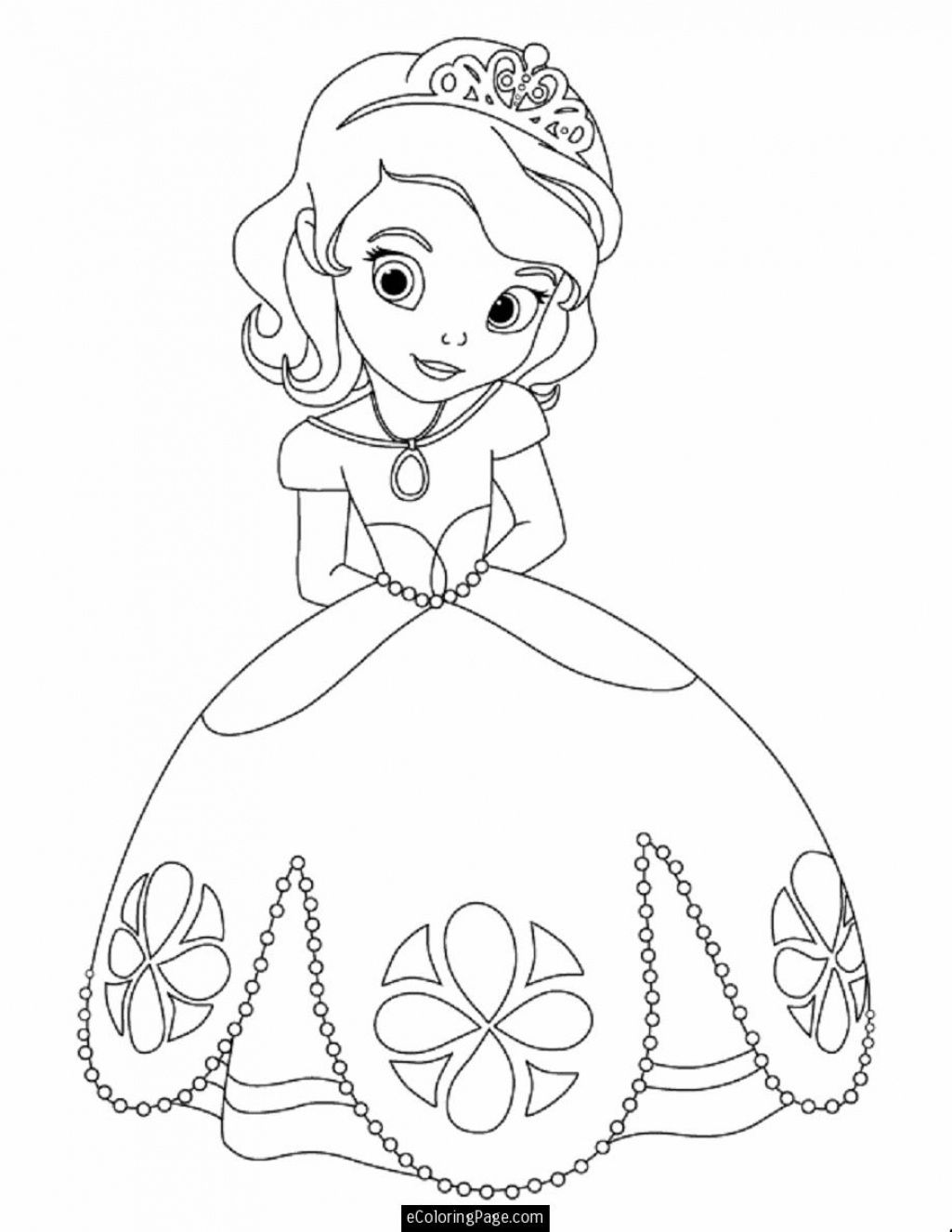 Disney Princess Ariel Coloring Pages Free Free Printable Disney ...