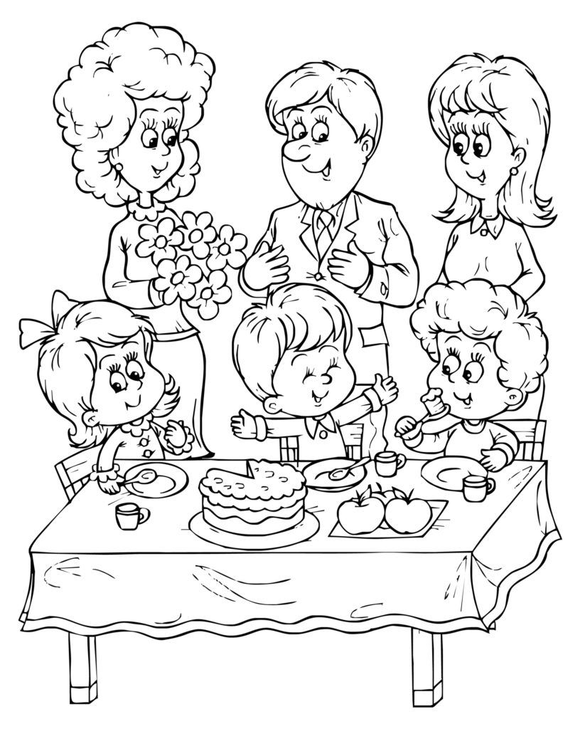 Happy Birthday Dad Printable Coloring Pages - Coloring Home