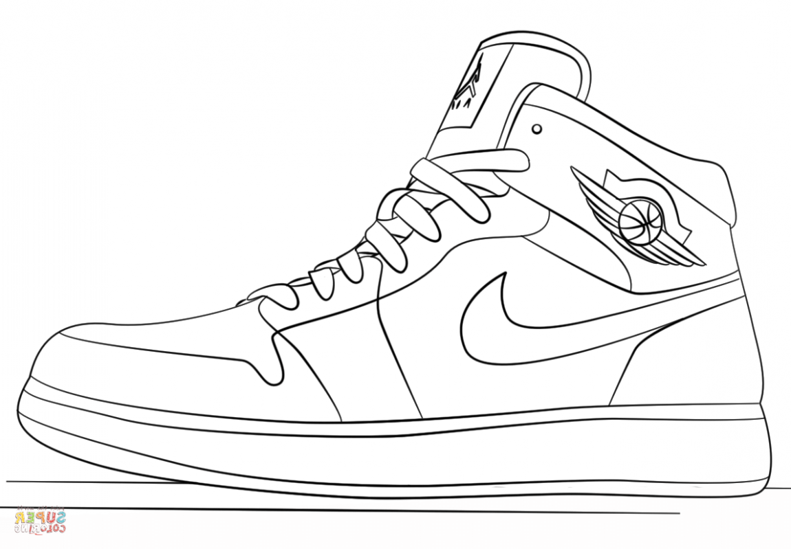 Jordan 12 Coloring Pages - Coloring Home
