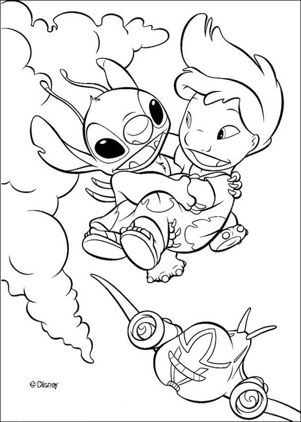 lilo and stitch coloring pages 33