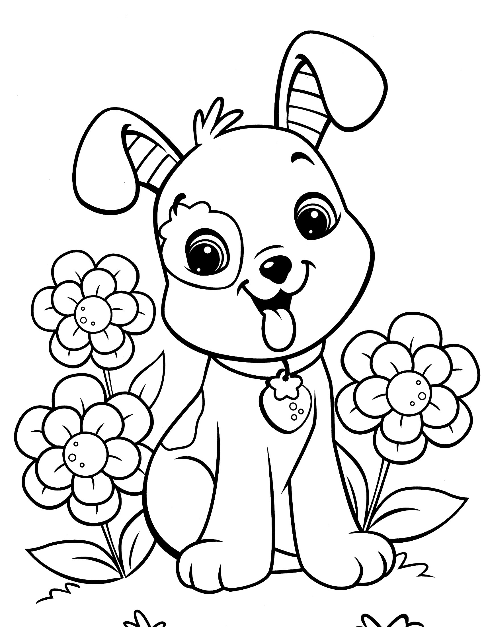 Full Page Printable Coloring Pages Ideas Art Dogs Dog Downloadree Books Of  Phenomenal – Refugiodeesperanza
