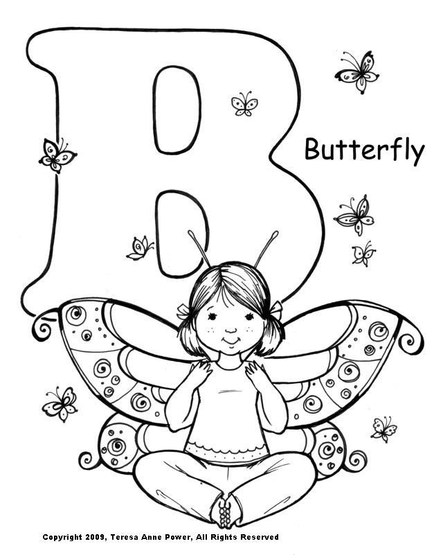 yoga coloring pages for kids - photo#7