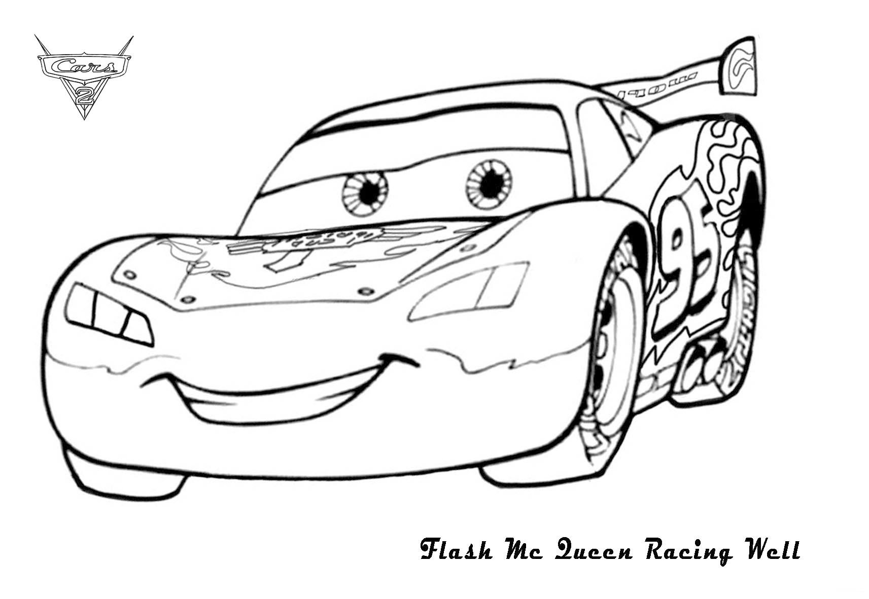 Cars 2 Francesco Bernoulli Coloring Pages Cars 2 Coloring Pages ...
