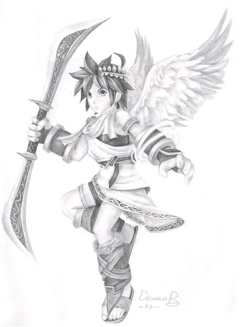 How To Draw Kid Icarus