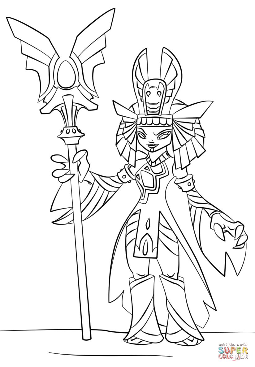 Golden Queen Skylanders Coloring Pages Coloring Pages