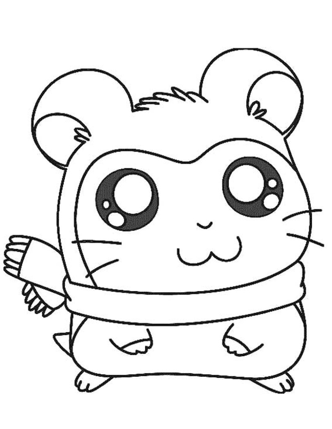 Ginnie Pig Coloring Pages - Coloring Home