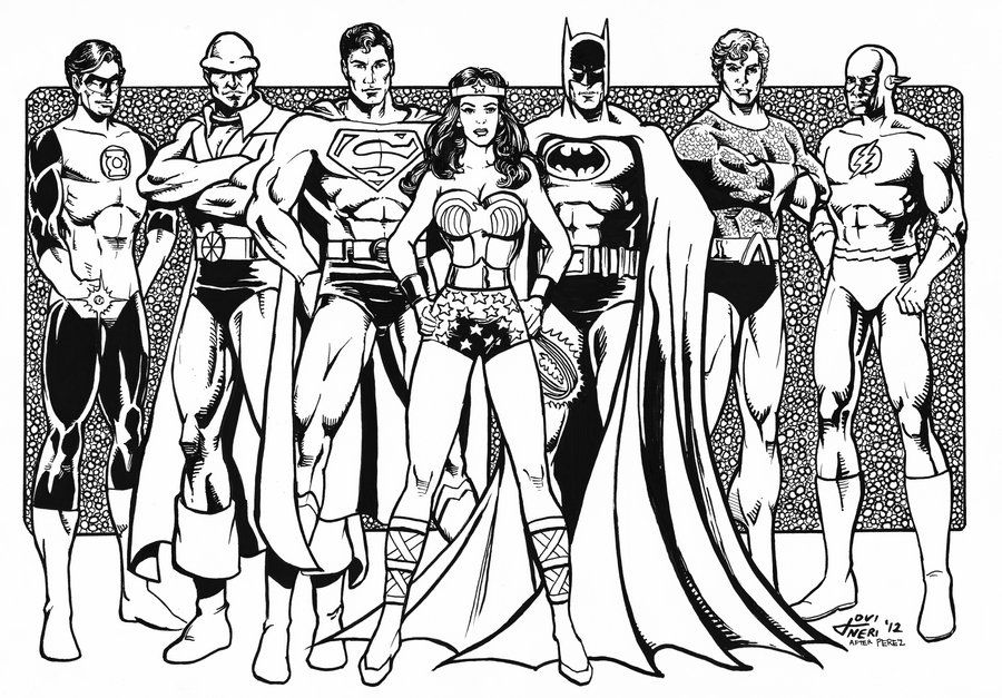 Lego Justice League Coloring Pages - Coloring Home