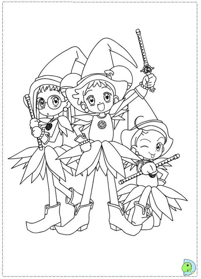 Magical Doremi Coloring Pages