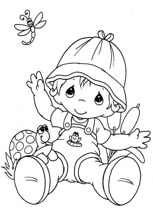 Precious Moments Animal Coloring Pages - Coloring Home