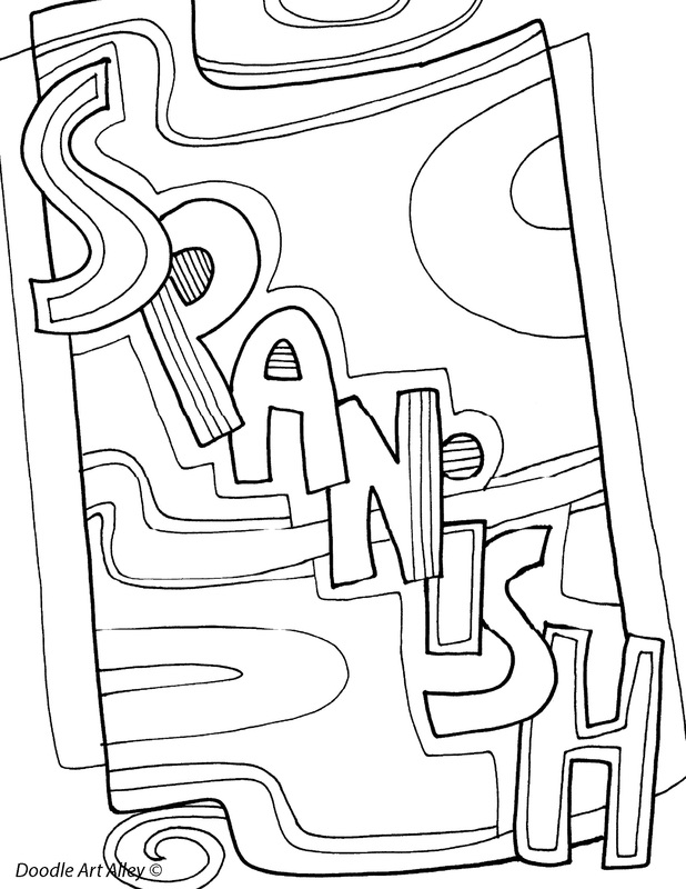 spanish childrens coloring pages - photo#35