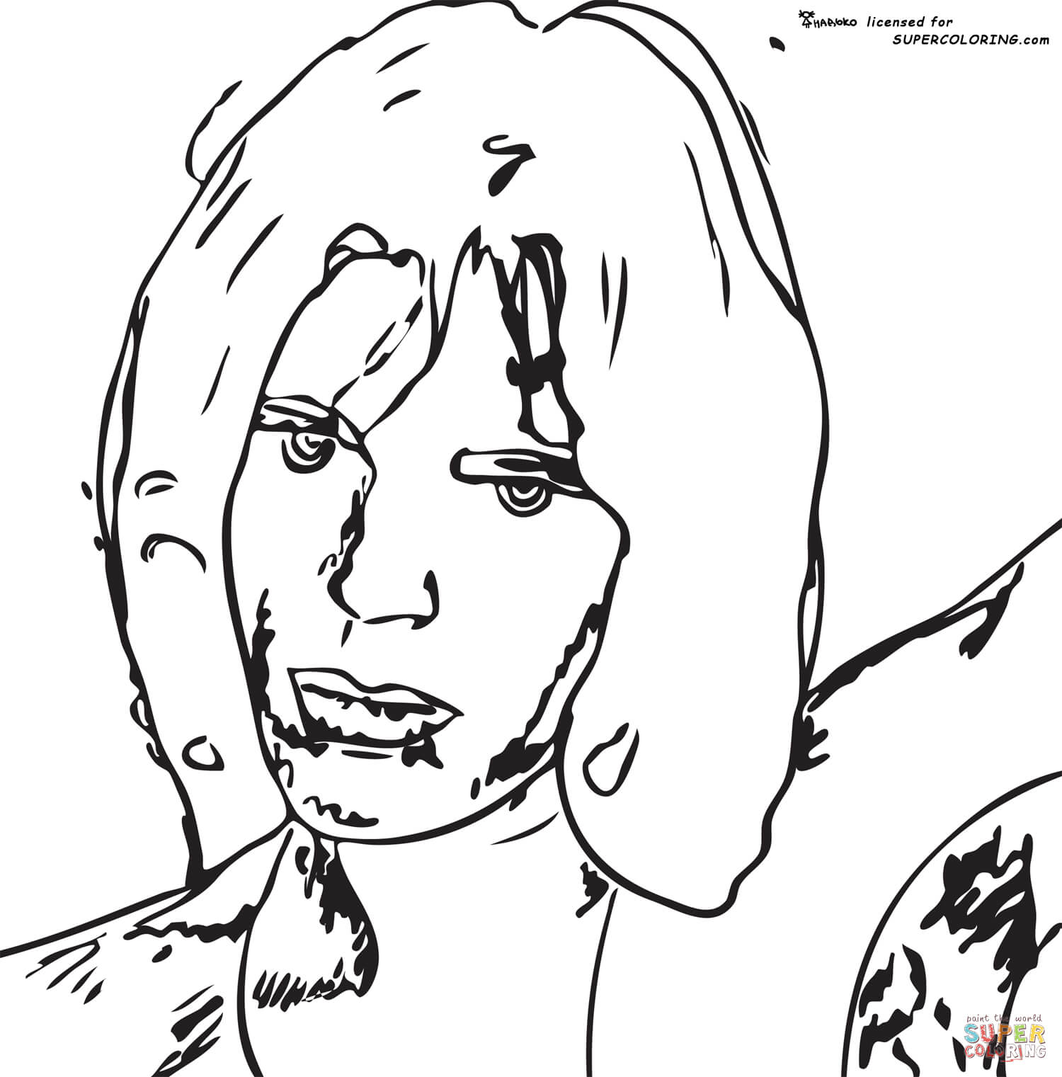 Coloring Book Drawings By Andy Warhol : Andy Warhol Coloring Pages Free Coloring Home
