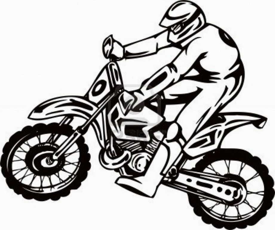 Free Bmx Coloring Page, Download Free Clip Art, Free Clip Art on ... | 770x921