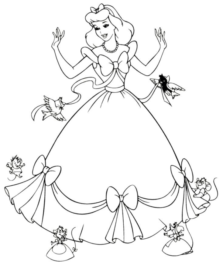 1000 Ideas About Princess Coloring Pages