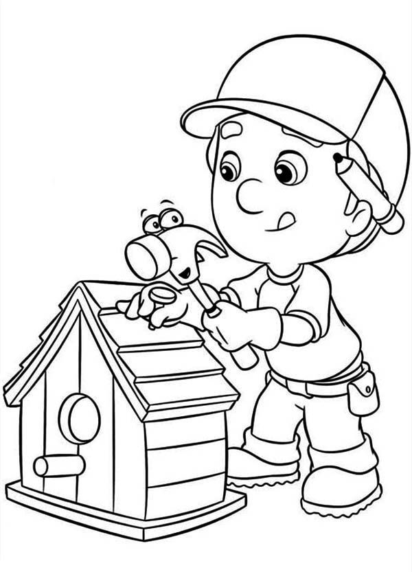 Free Printable Bird House Coloring Pages - Coloring Page