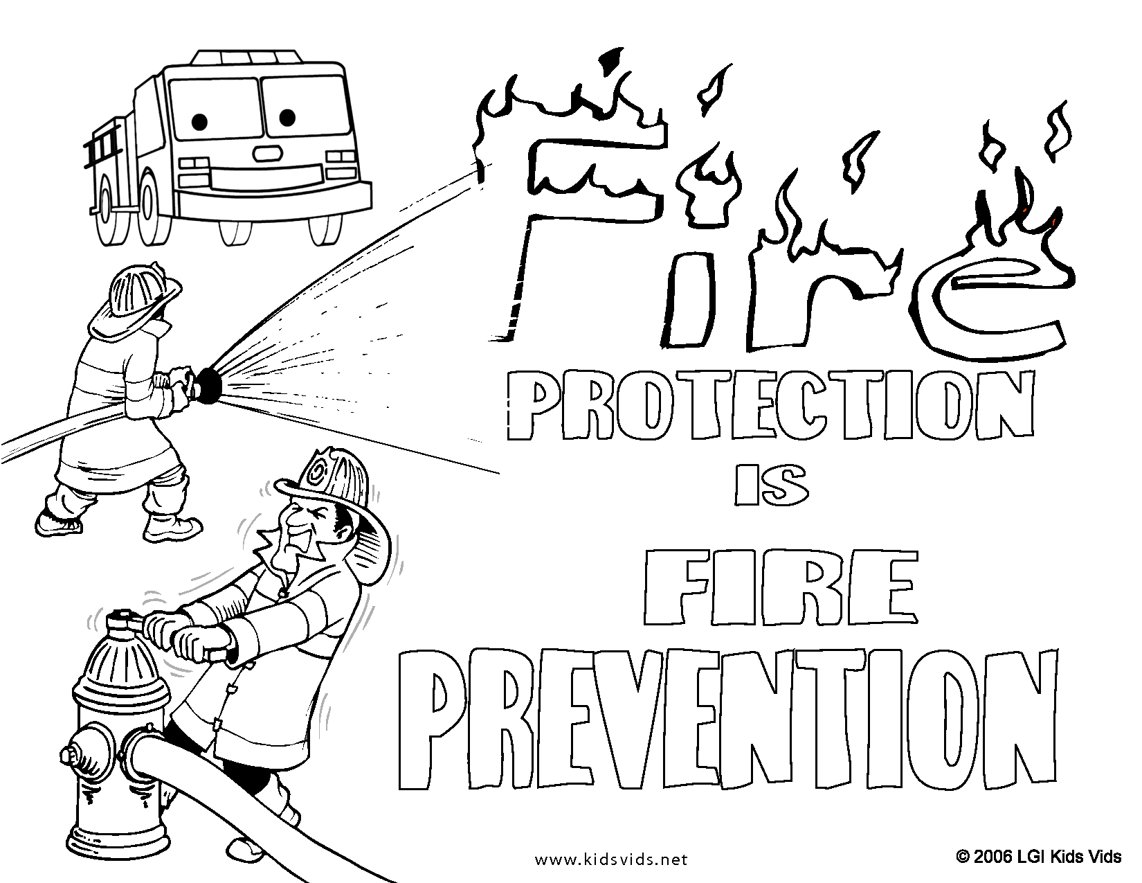 Coloring Pages Of Be Safe Coloring Home