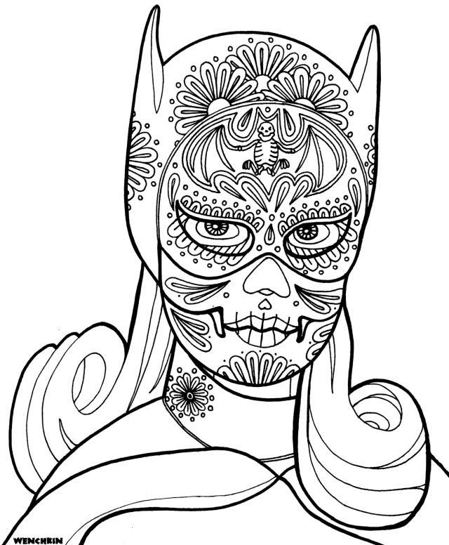 skull coloring pages az coloring pages