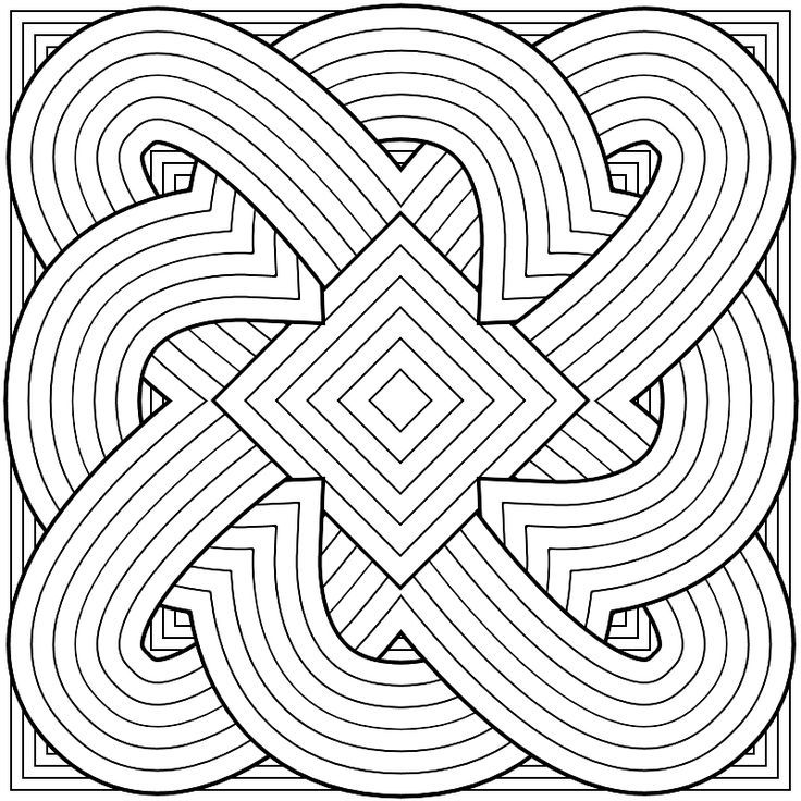 Printable Tessellation Patterns To Color Coloring Pages For Kids