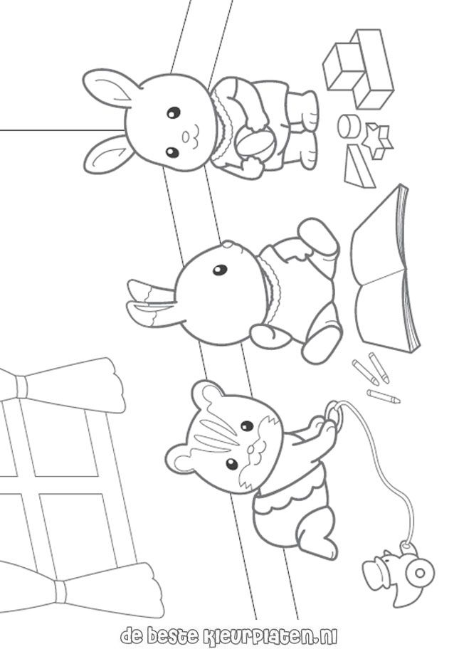 Calico critters free coloring pages az coloring pages for Little critter coloring pages