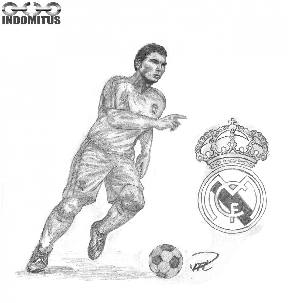 14 Pics Of Cristiano Ronaldo Real Madrid Coloring Pages