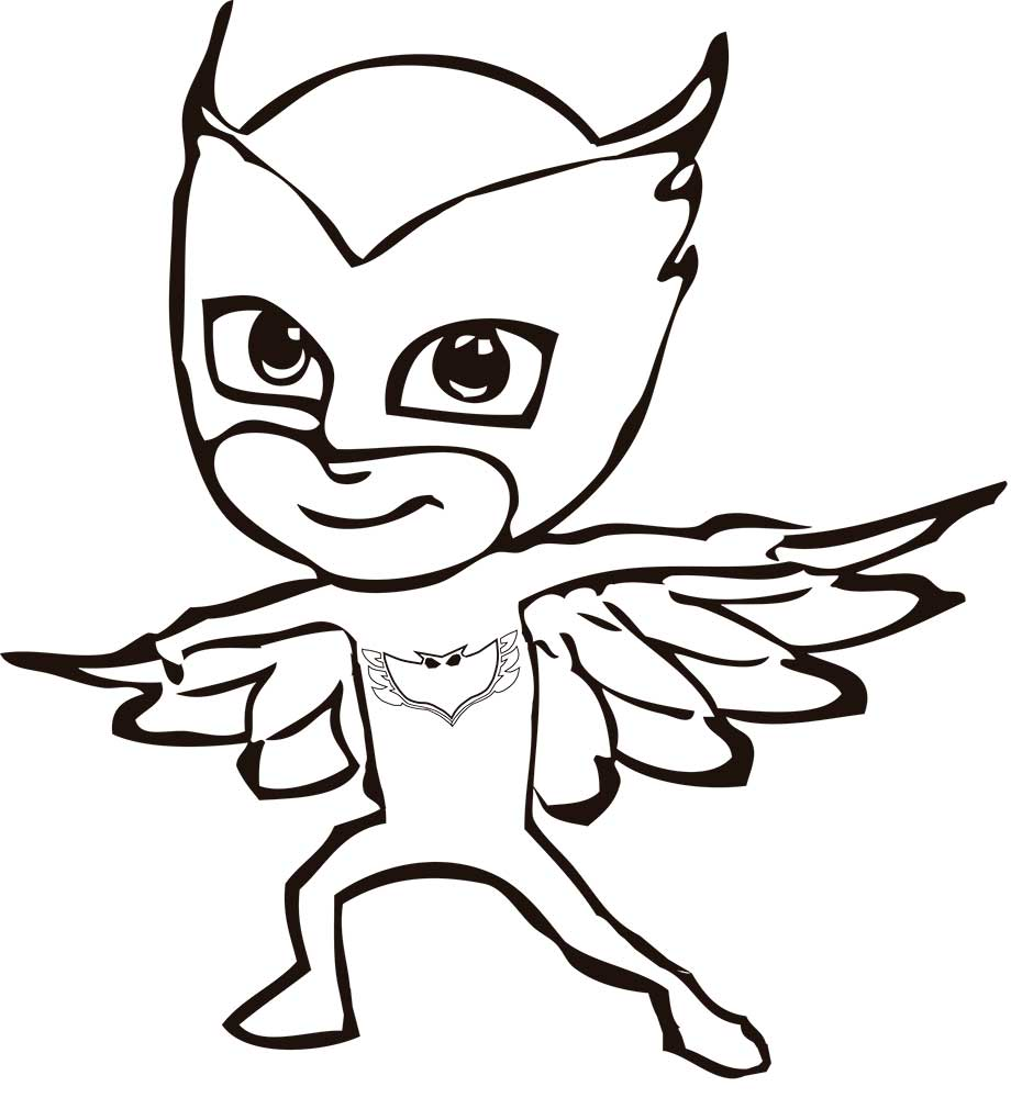 coloring page - Pj Masks Coloring Pages
