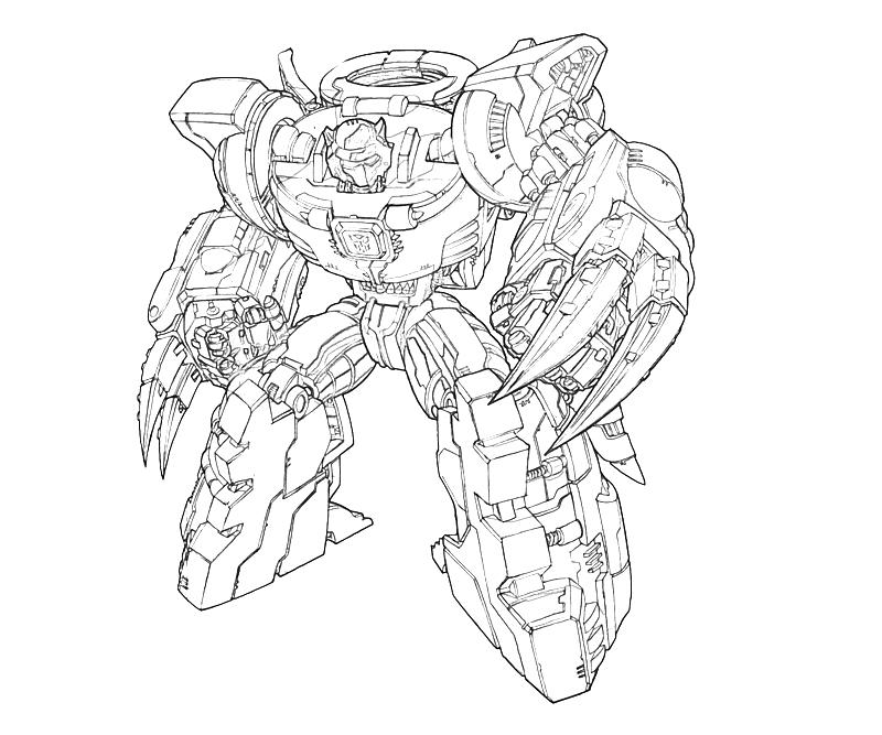 transformers cybertron coloring pages - photo#26