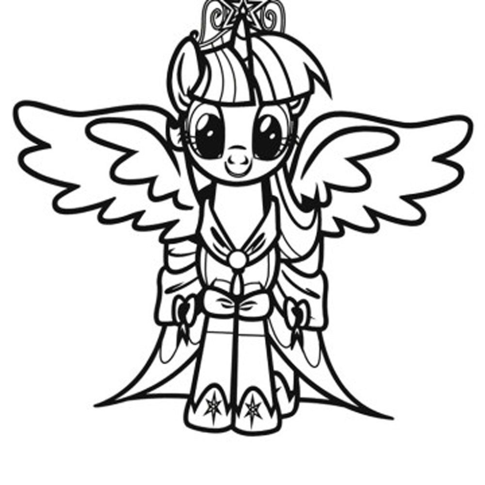 My little pony friendship is magic coloring pages to print - My Little Pony Friendship Is Magic Printables Coloring Pages For