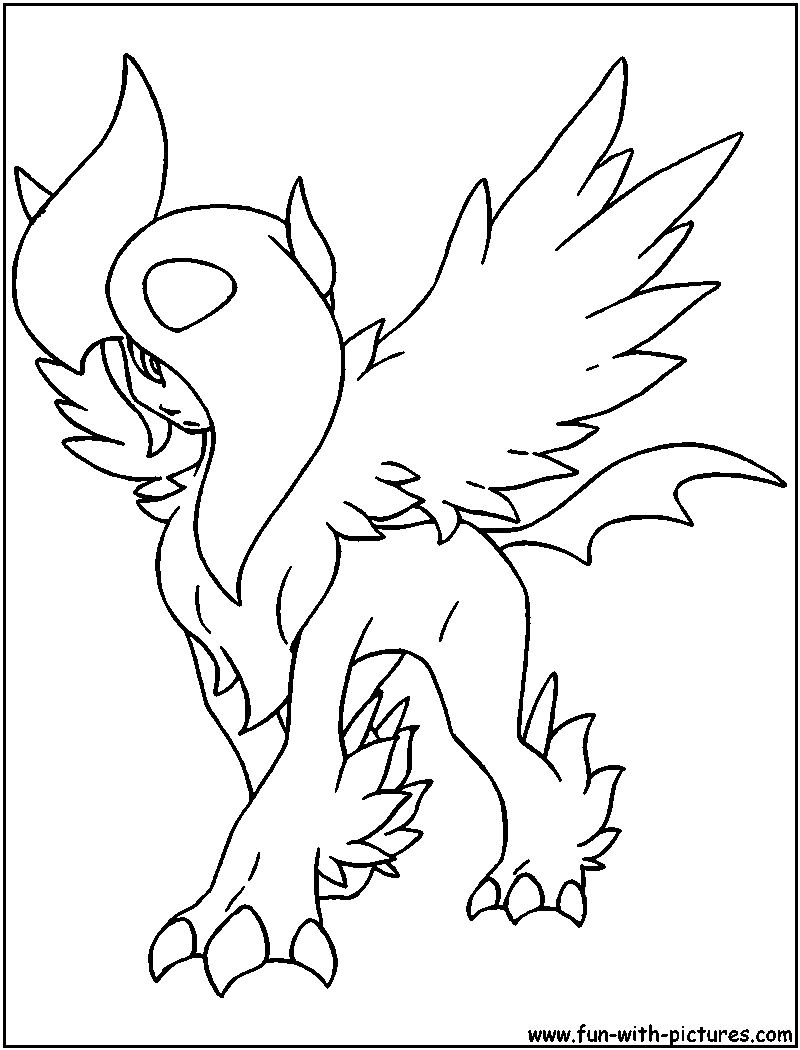 Mega Ex Pokemon Coloring Pages