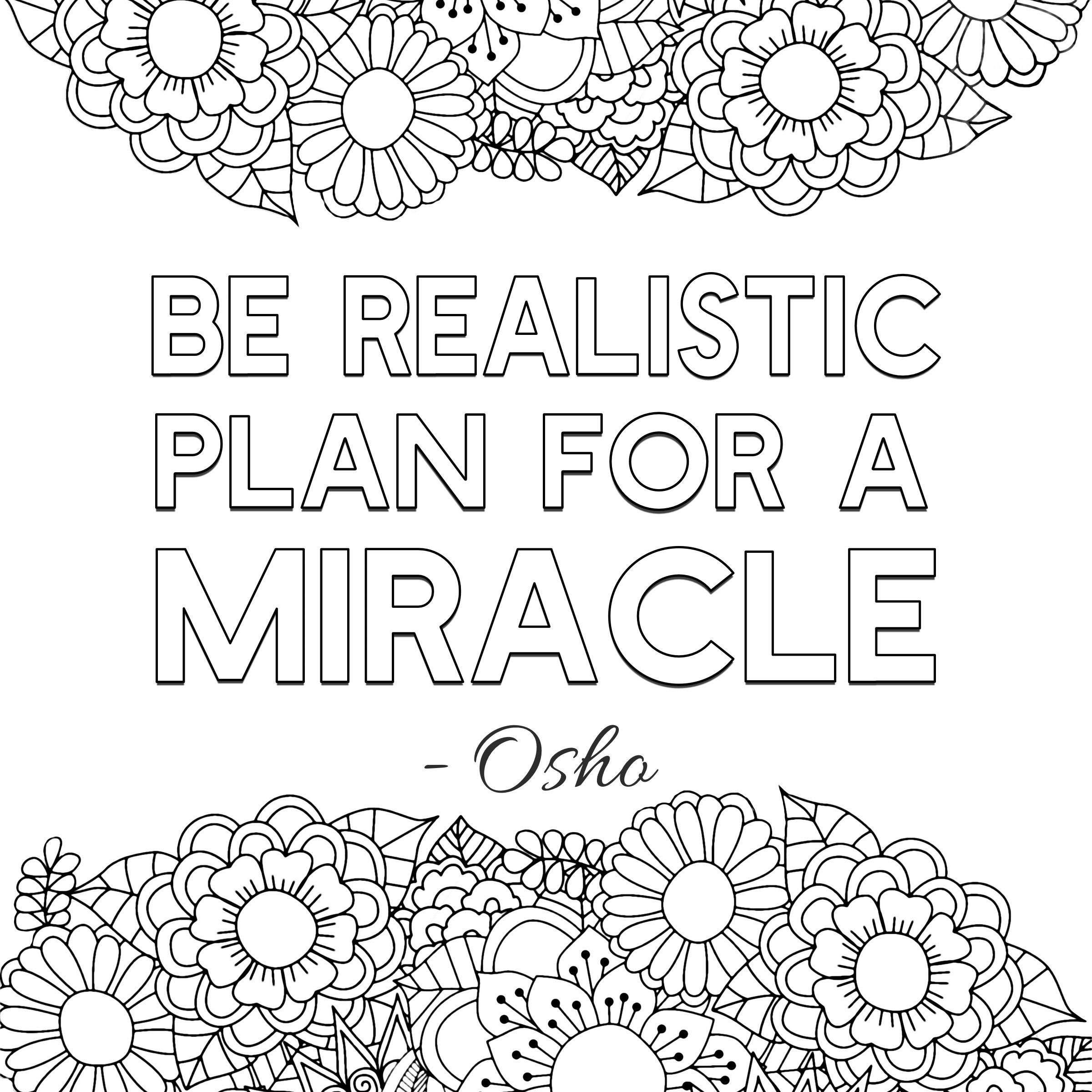 Inspirational Coloring Pages - Coloring Home