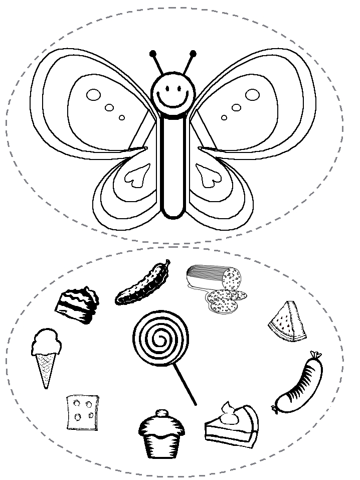 hungry caterpillar coloring pages - photo#20