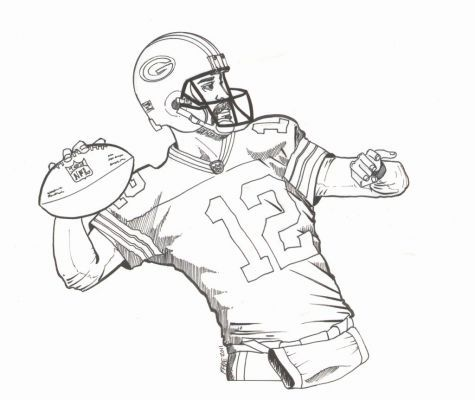 Green Bay Packers Logo Coloring Page Free Printable Coloring Pages