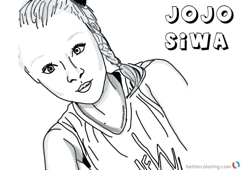 - Coloring Pages Jojo Siwa - Coloring Home