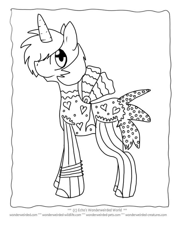 Unicorns Coloring Pages Coloring