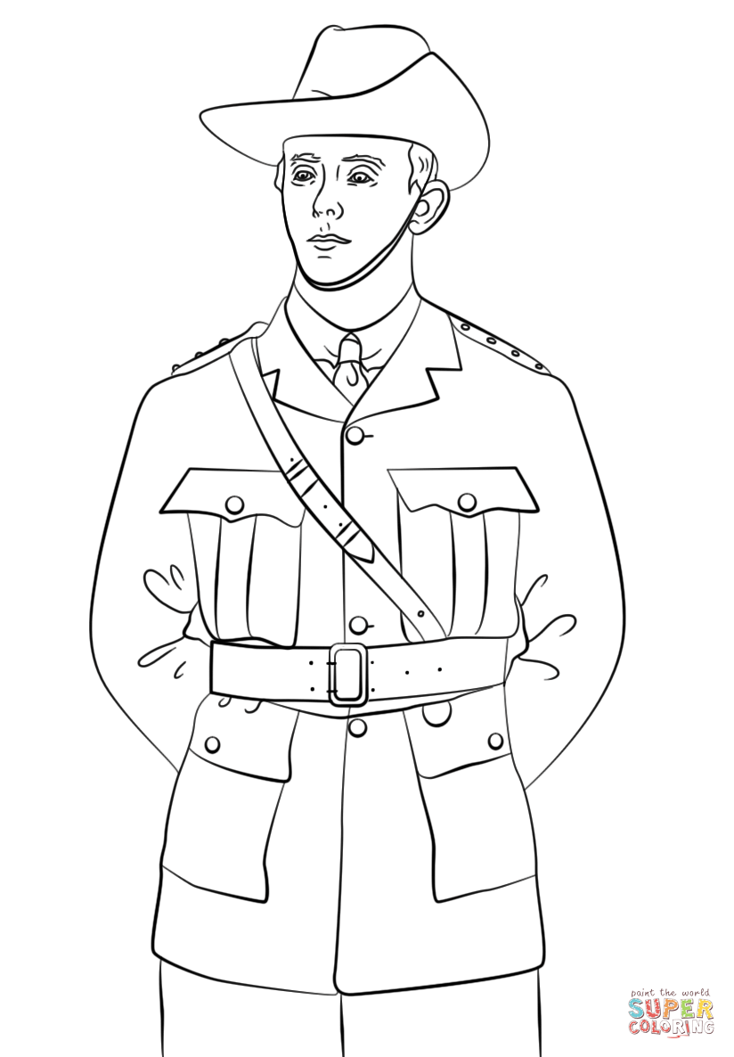 soldier coloring pages free - photo#24