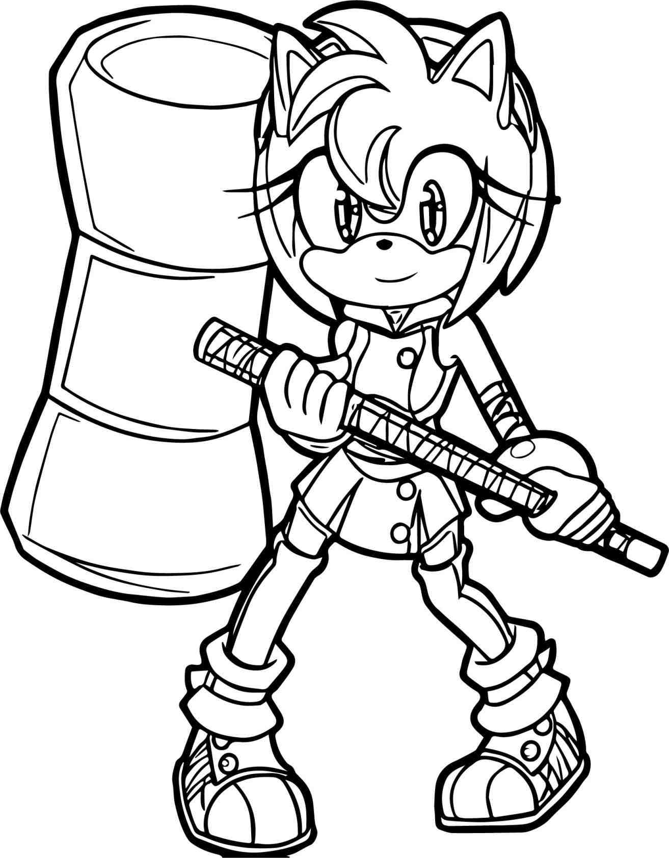 Sonic Boom Sonic The Hedgehog Sonic Boom Sonic Coloring ...