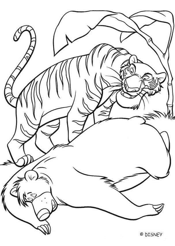 Jungle Book Coloring Pages Pdf : Disney the jungle book coloring pages