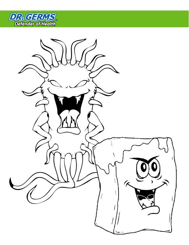 germ coloring pages - photo#26