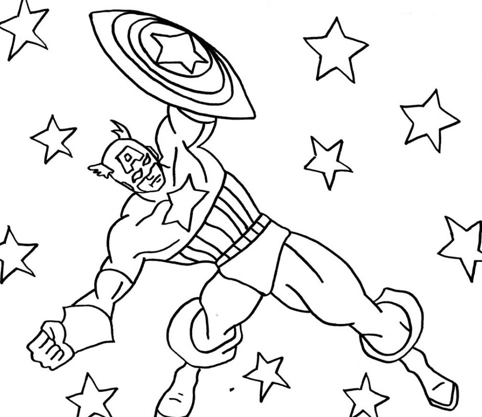 Captain America Coloring Pages Az Coloring Pages Coloring Pages Hd