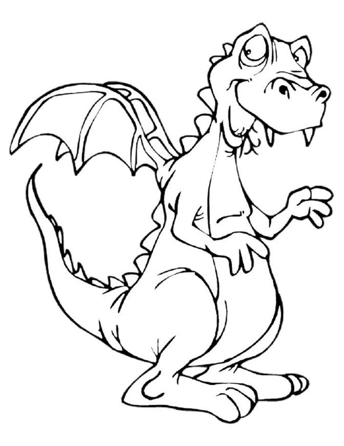 Komodo Dragon Coloring Pages Dragon Coloring Pages The