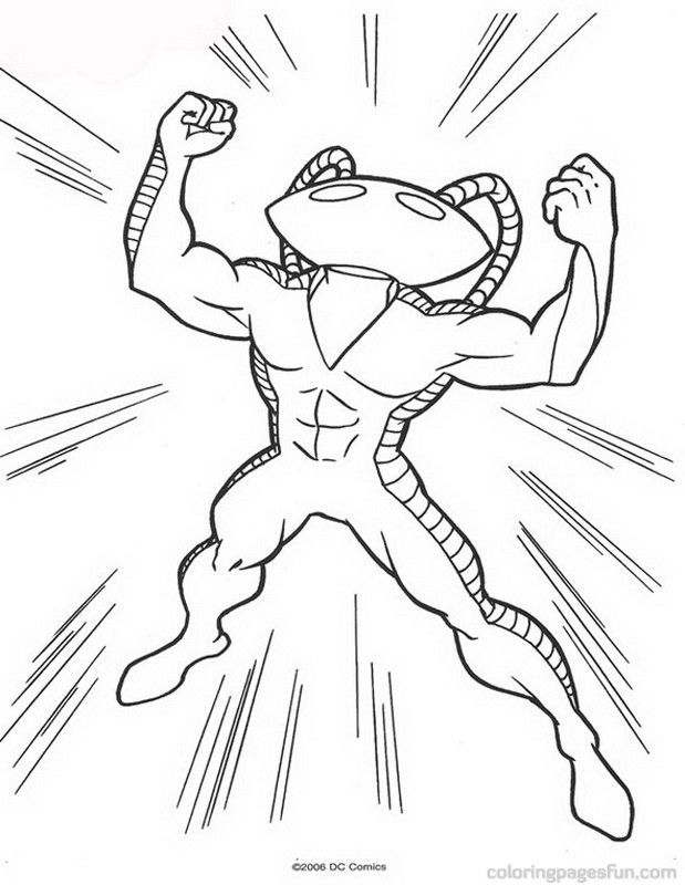 Aquaman Coloring Pages Coloring Home