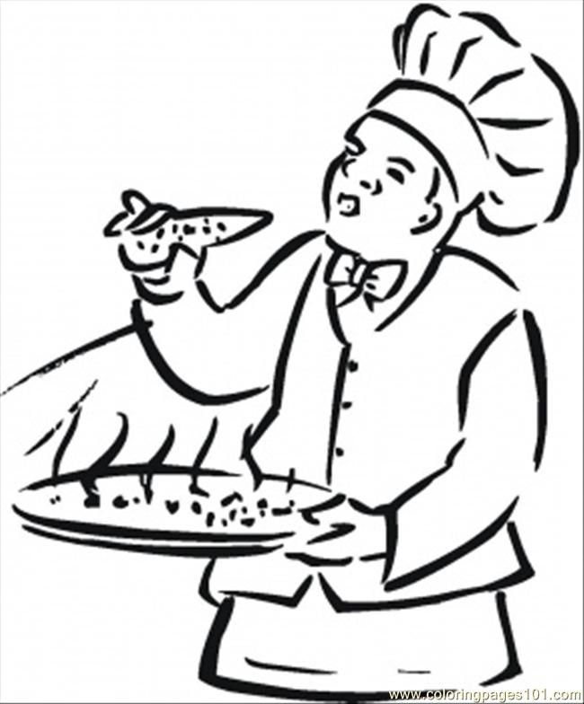 Coloring Pages Italian Food Countries Italy