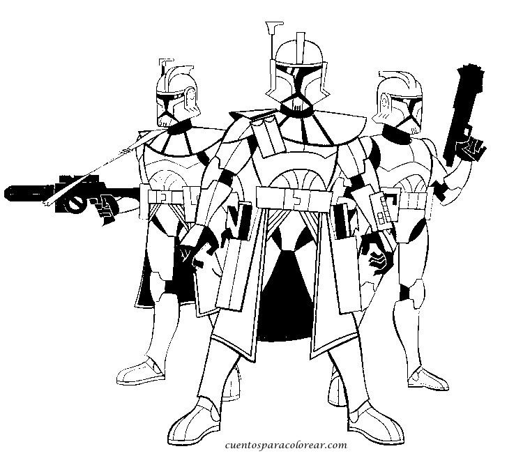 coloring pages and clone wars - photo#31