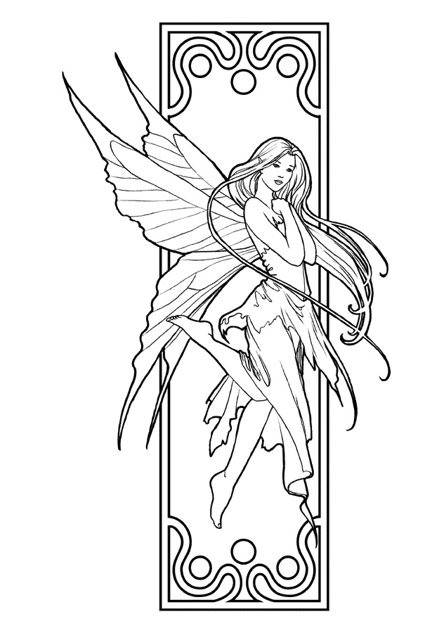 Printable Coloring Pages Of Fairies Az Coloring Pages Coloring Pages For Fairies Printable