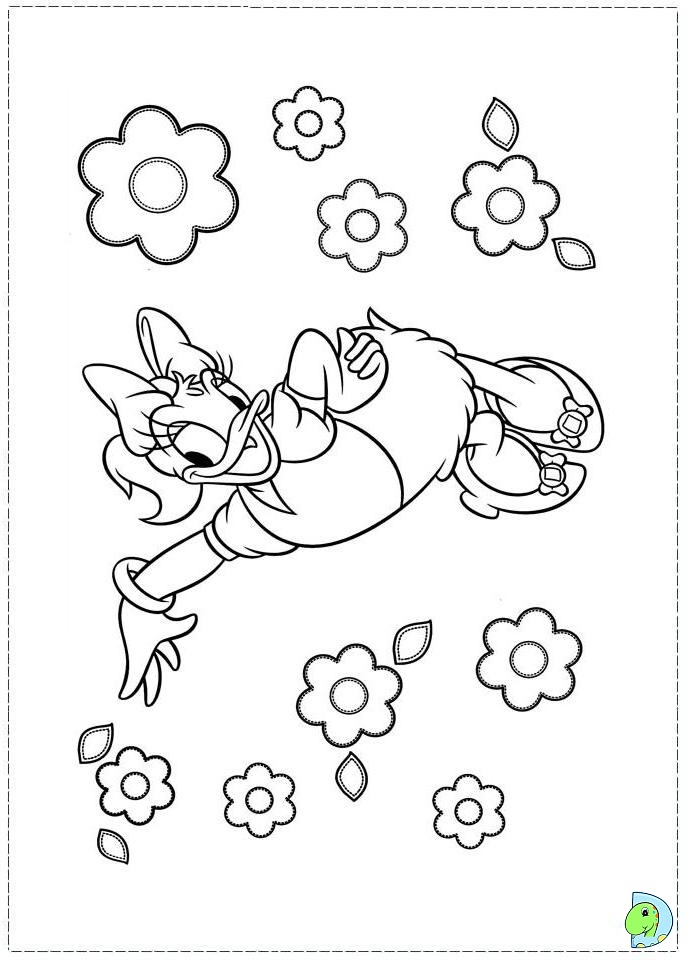 Daisy Duck Coloring page