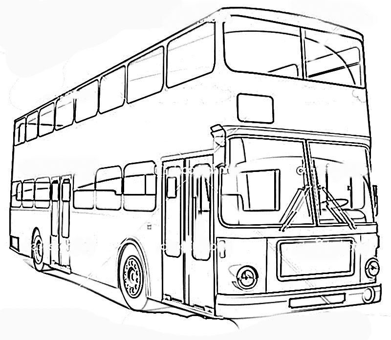 Means of transport Colouring Pages